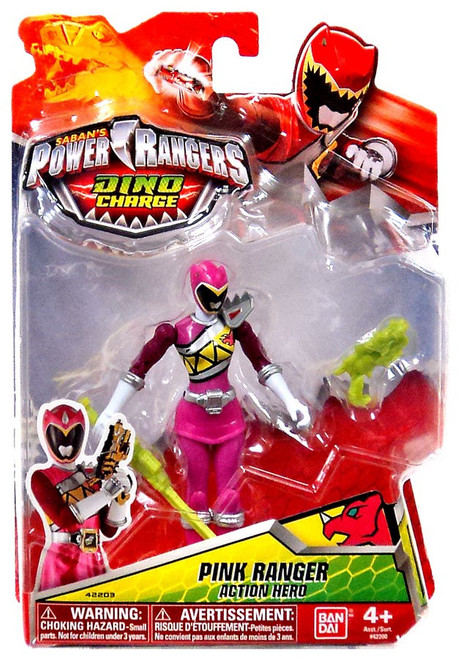 Power Rangers Dino Charge Pink Ranger Action Figure
