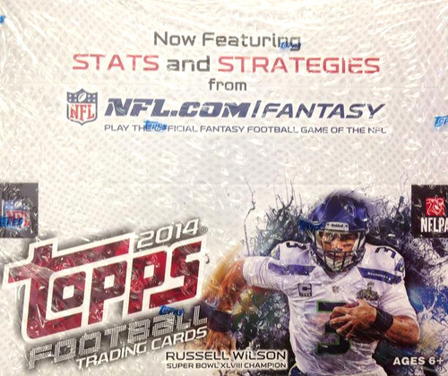NFL 2014 Topps Football Cards Trading Card Box [Retail]