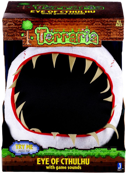 Terraria Eye of Cthulhu 9-Inch Deluxe Plush [With Game Sounds]