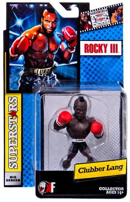 Rocky III Big Screen Superstars Clubber Lang Mini Figure [Black Shorts]