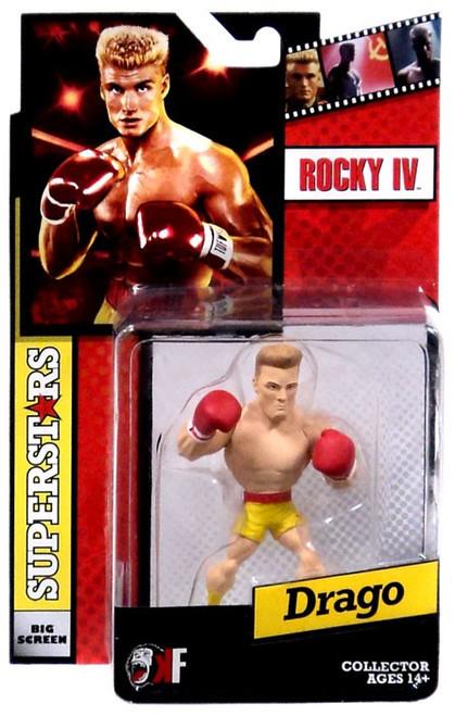 Rocky IV Big Screen Superstars Drago Mini Figure [Yellow Trunks]