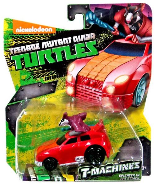 Teenage Mutant Ninja Turtles Nickelodeon T-Machines Splinter in Rat Attack Diecast Car