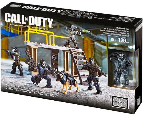 Mega Bloks Call of Duty Covert OPS Unit Set #06886