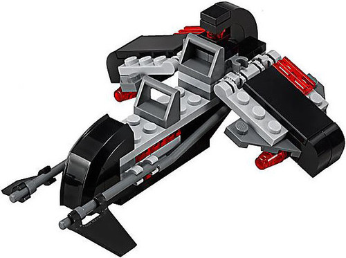 LEGO Star Wars Loose Mini Vehicles Shadow Speeder [Loose]