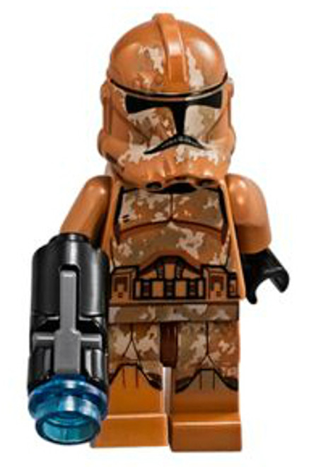 LEGO Star Wars Attack of the Clones Geonosis Clone Trooper Minifigure [Loose]