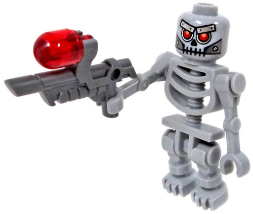 The LEGO Movie Skeletron Minifigure [Includes Weapon]