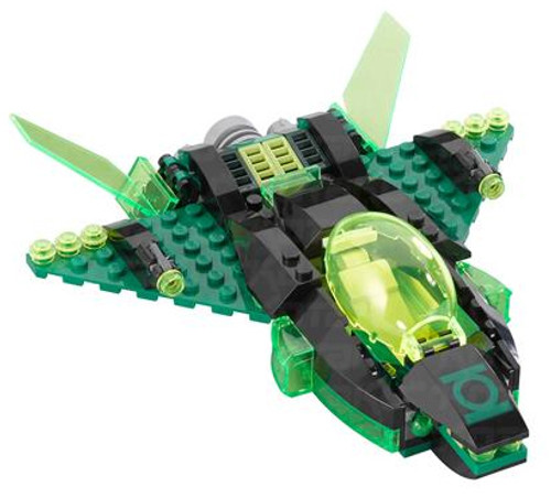 LEGO DC Green Lantern Spaceship Minifigure [Loose]