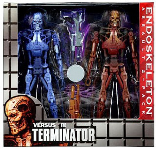 NECA RoboCop vs. The Terminator Series 1 Endoskeleton Assault Exclusive Action Figure 2-Pack