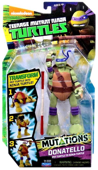 Teenage Mutant Ninja Turtles Nickelodeon Mutations Donatello Action Figure [Pet Turtle to Ninja Turtle]