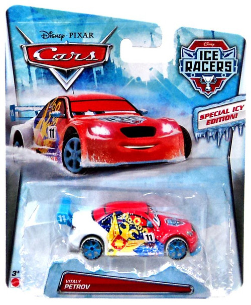 Disney / Pixar Cars Ice Racers Vitaly Petrov Diecast Car [Special Icy Edition]