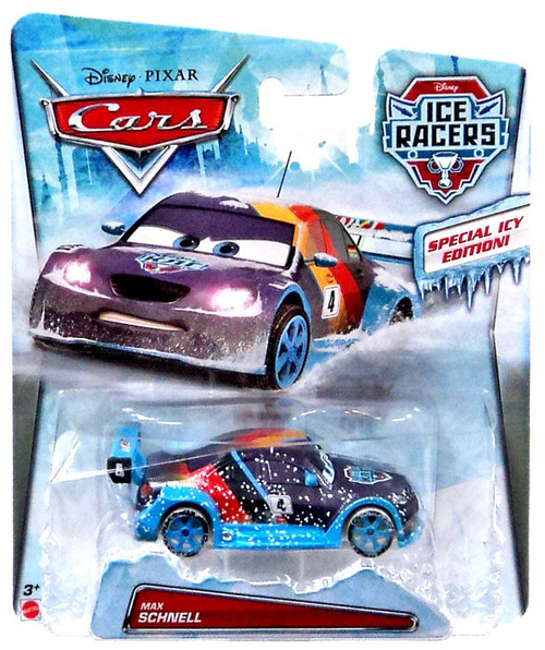 Disney / Pixar Cars Ice Racers Max Schnell Diecast Car [Special Icy Edition]