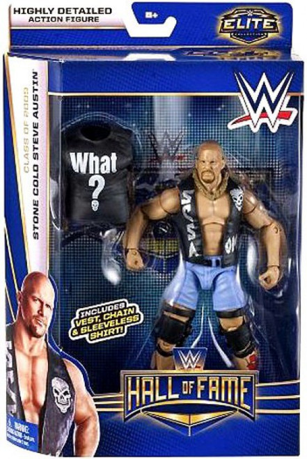 WWE Wrestling Elite Collection Hall of Fame Stone Cold Steve Austin Exclusive Action Figure [Vest, Chain & Sleeveless Shirt]