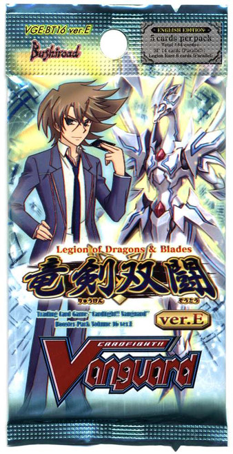Cardfight Vanguard Legion of Dragons & Blades ver.E Booster Pack