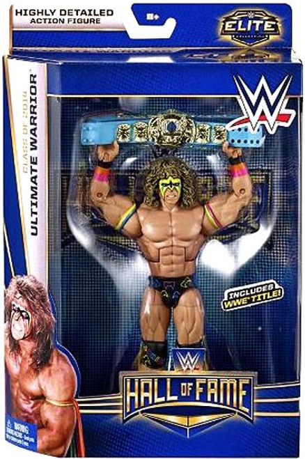 WWE Wrestling Elite Collection Hall of Fame Ultimate Warrior Exclusive Action Figure [WWE Title]