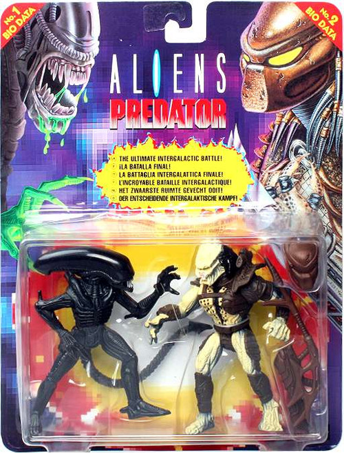 Aliens Renegade Predator vs. Warrior Alien Action Figure 2-Pack #1 [EU Version]