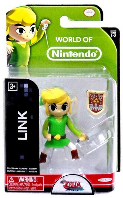 World of Nintendo Legend of Zelda Link 2.5-Inch Mini Figure