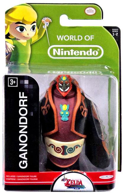 World of Nintendo Legend of Zelda Ganondorf 2.5-Inch Mini Figure