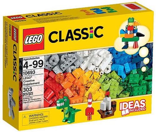 LEGO Classic Creative Supplement Bricks Set #10693