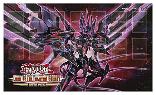 YuGiOh Trading Card Game Card Supplies Lord of the Tachyon Galaxy Official Sneak Peek Playmat
