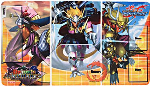 Future Card BuddyFight Trading Card Game Card Supplies Drum's Adventure Playmat