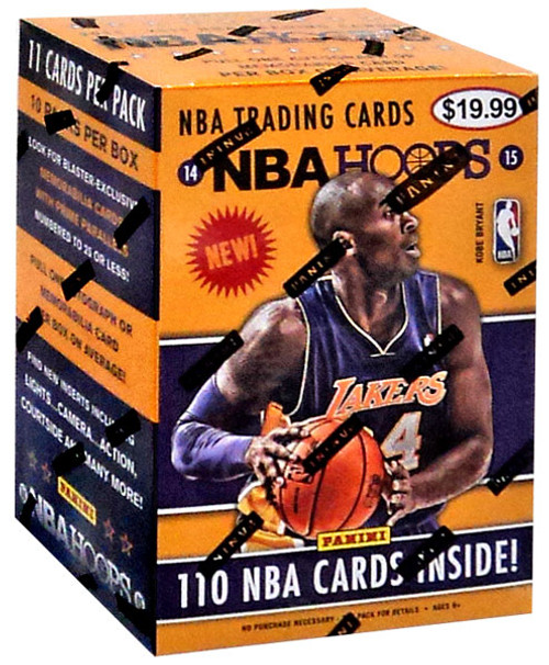 NBA Panini 2014/15 Hoops Basketball Trading Card BLASTER Box [10 Packs]