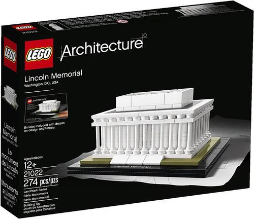 LEGO Architecture Lincoln Memorial Set #21022