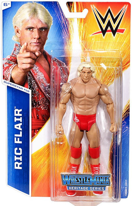 WWE Wrestling Series 48 Ric Flair Action Figure #19