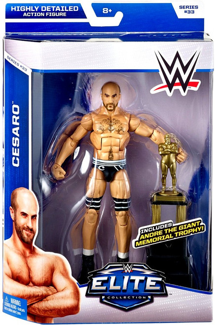 WWE Wrestling Elite Collection Series 33 Cesaro Action Figure [Andre the Giant Memorial Trophy]