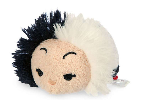 Disney 101 Dalmatians Tsum Tsum Cruella De Vil Exclusive 3.5-Inch Mini Plush [Version 1]