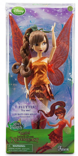 Disney Fairies Tinker Bell and the Legend of the NeverBeast Fawn 10-Inch Doll