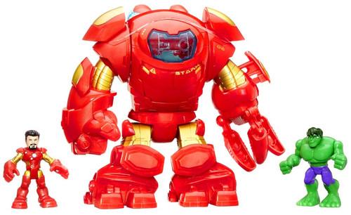 Marvel Playskool Heroes Super Hero Adventures Stark Tech Armor Mini Figure Set