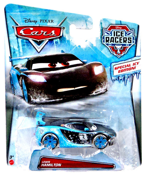 Disney / Pixar Cars Ice Racers Lewis Hamilton Diecast Car [Special Icy Edition]