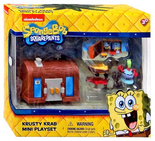 Spongebob Squarepants Krusty Krab Mini Playset