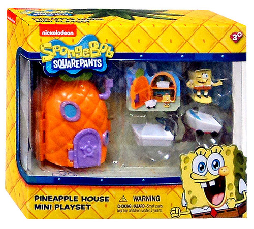 Spongebob Squarepants Pineapple House Mini Playset