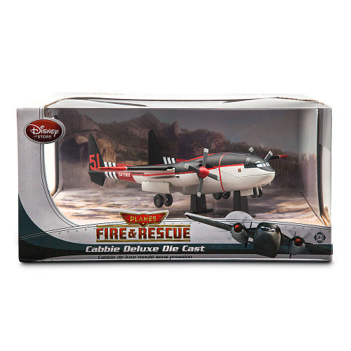 Disney Planes Fire & Rescue Cabbie Deluxe Diecast Car