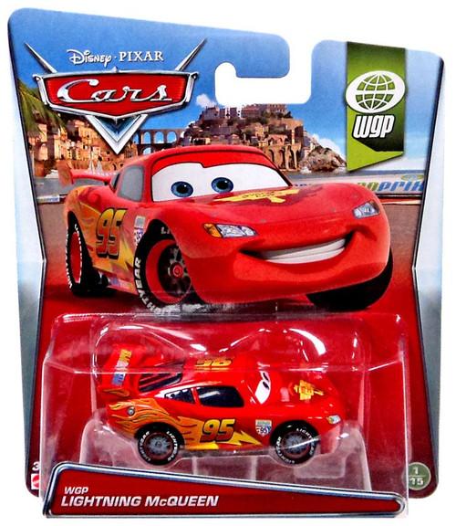 Disney / Pixar Cars WGP Lightning McQueen Diecast Car #1/15