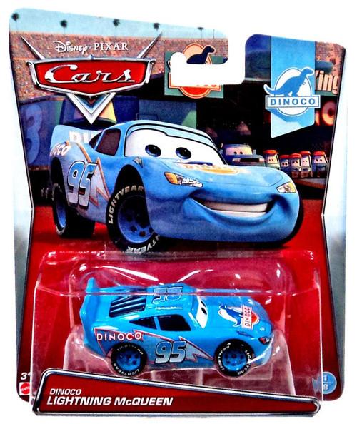 Disney / Pixar Cars Dinoco Lightning McQueen Diecast Car #1/8