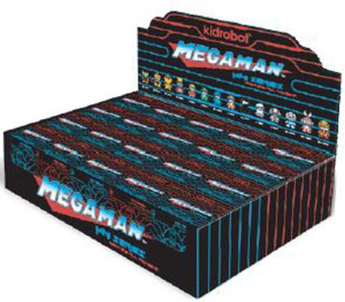 Vinyl Mini Figure Mega Man 3-Inch Mystery Box [20 Packs]