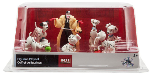 Disney 101 Dalmatians Exclusive 7-Piece PVC Figurine Playset
