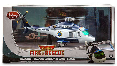 Disney Planes Fire & Rescue Blazin' Blade Deluxe Exclusive Diecast Car