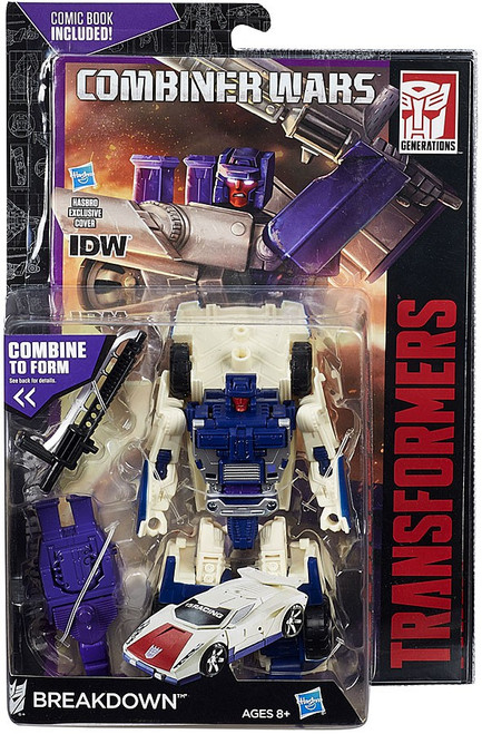 Transformers Generations Combiner Wars Breakdown Deluxe Action Figure [Stunticon]