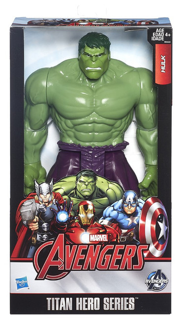 Marvel Avengers Titan Hero Series Hulk Action Figure [Avengers]