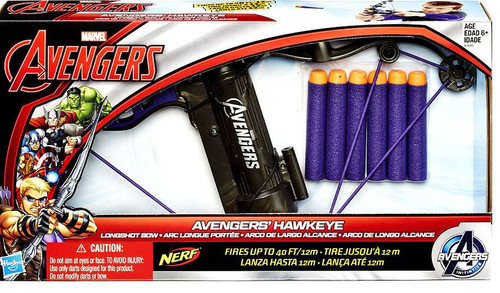 Marvel Avengers Age of Ultron Hawkeye Longshot Bow 7-Inch Roleplay Toy