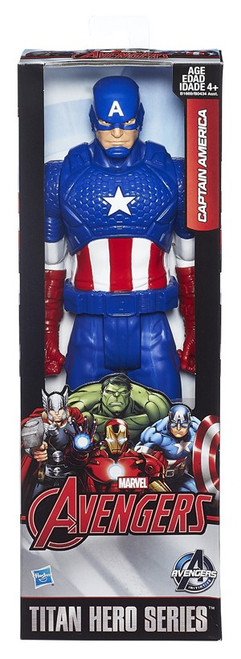 Marvel Avengers Age of Ultron Titan Hero Series Captain America Action Figure