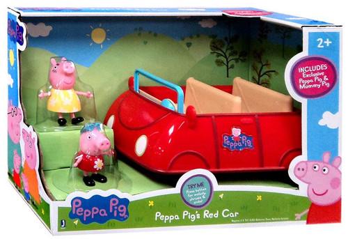 Peppa Pig's Red Car Vehicle & Figure Set