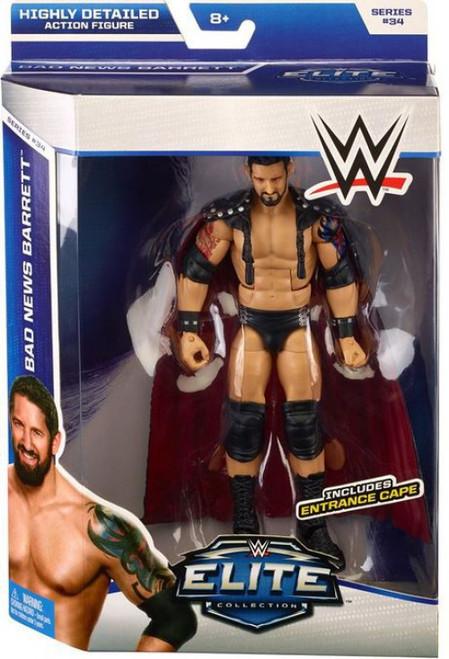 WWE Wrestling Elite Collection Series 34 Bad News Barrett Action Figure [Entrance Cape]