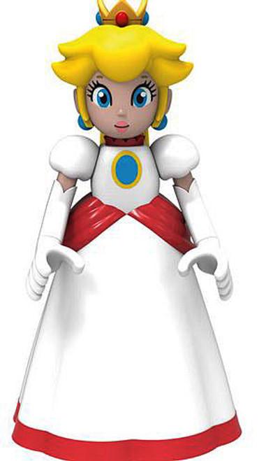 K'NEX Super Mario Fire Princess Peach Minifigure [White Dress Loose]