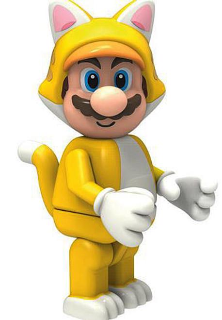 K'NEX Super Mario Cat Mario Minifigure [Loose]
