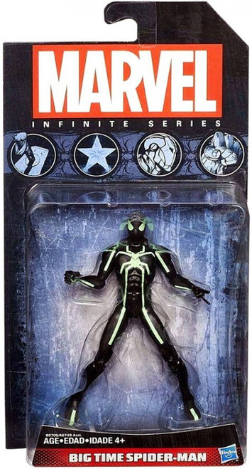 Marvel Avengers Infinite Series 4 Big Time Spider-Man Action Figure