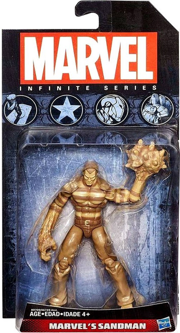 Avengers Infinite Series 4 Marvel's Sandman Action Figure [Sandy]